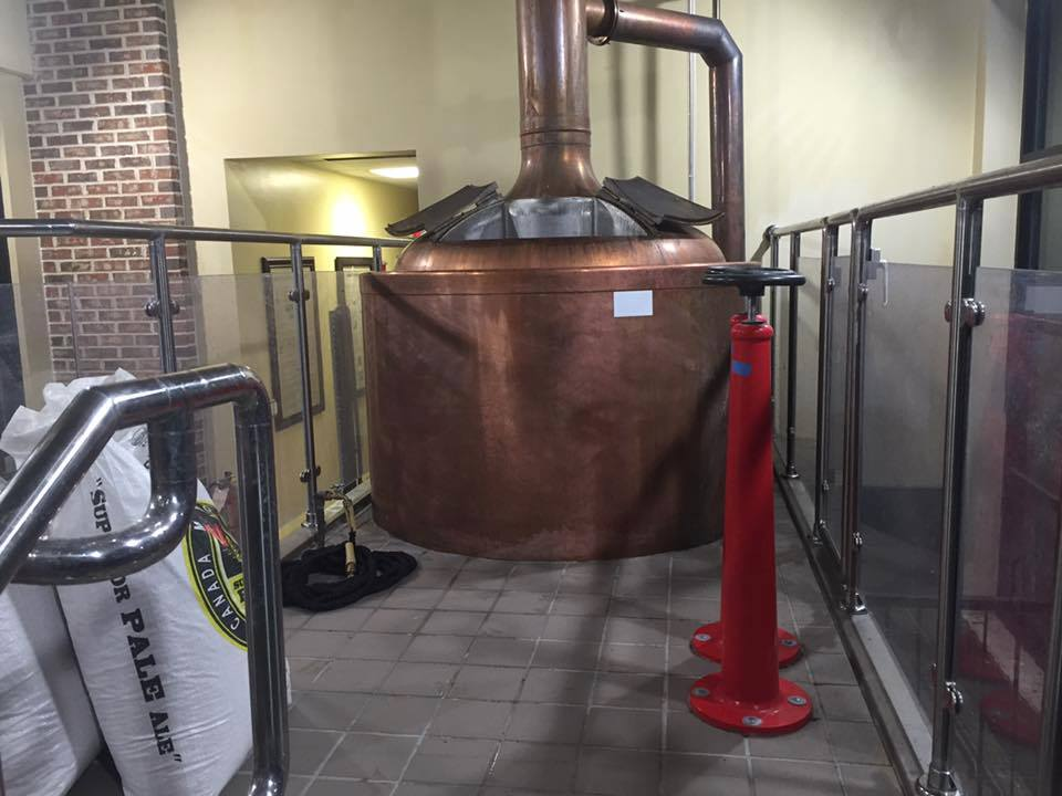 Gottfried Krueger Brewing Copper Beer
