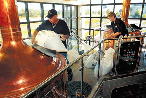 Krueger brewing co. mixing stage beer ale