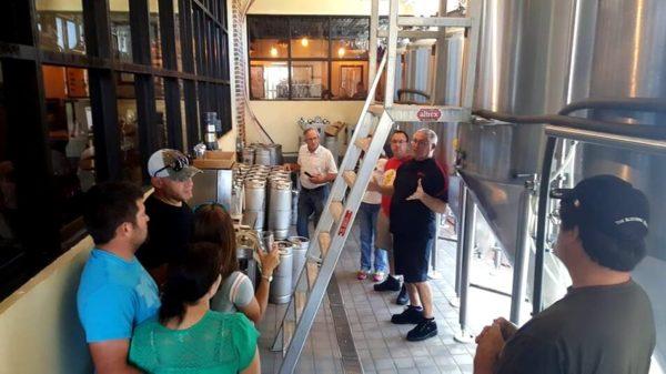Tour Krueger brewing company facility spring hill Florida